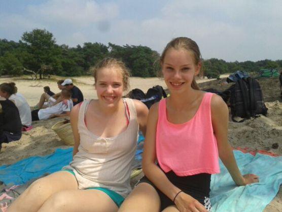 Met Kirsten in de Soesterduinen